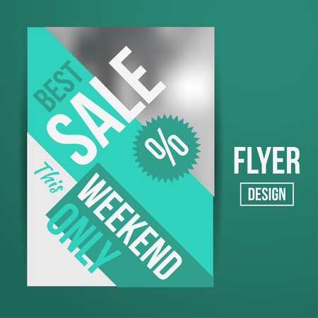 hurry: Abstract Vector Creative Sale Flyers, can be used as poster or banner design. For shopping.
