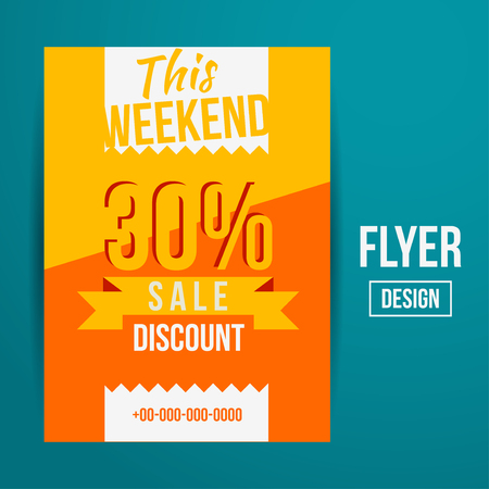 mega sale: Abstract Vector Creative Sale Flyers, can be used as poster or banner design. For shopping.