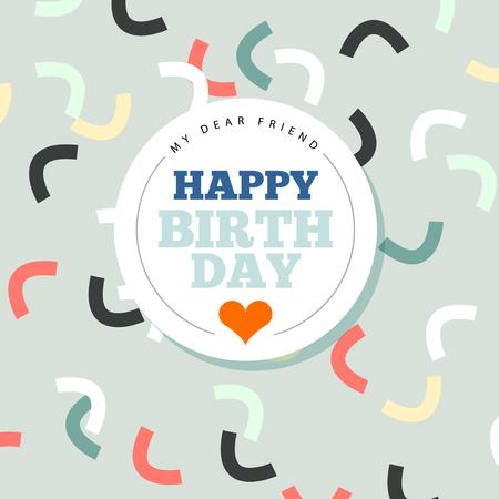 Background with happy birthday typography invite birthday card background with happy birthday typography invite birthday card stock vector 51380208 filmwisefo