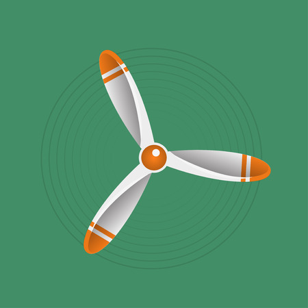 aircraft engine: Propeller vector illustration. Propeller aircraft vector illustration. Retro propeller. Vector propeller. Propeller engine aircraft. Propeller quadrocopter