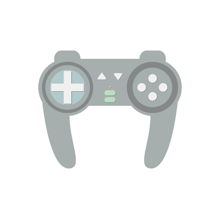 game controller: Joystick vector illustration. Vedeo game controller. Joystick for computer game.