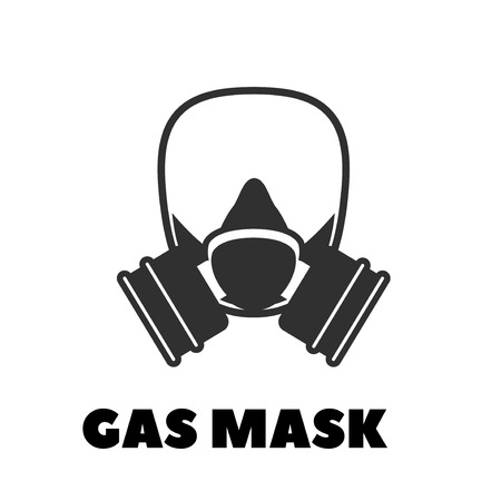 Vector gas mask icon 向量圖像