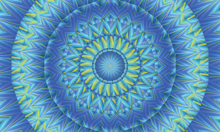 concentric: Concentric colorful kaleidoscopic background  Mantra background