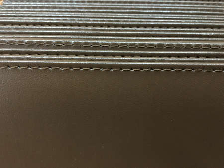 Background of notebooks with leather cover