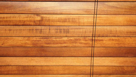 Wooden shutters closed as background Banco de Imagens