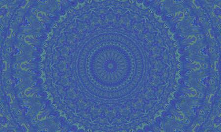 mantra: Concentric colorful kaleidoscopic background  Mantra background