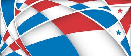 bandera de panama: Resumen de fondo con los colores de la bandera de Panamá - Imagen vectorial
