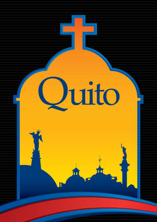 Design of the city of Quito.