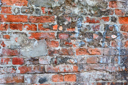 parity: Wall of bricks for background