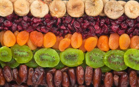 frutos secos: Las frutas secas se cierran para arriba se puede utilizar como fondo Foto de archivo