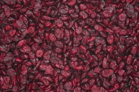 Dried cranberries Banco de Imagens