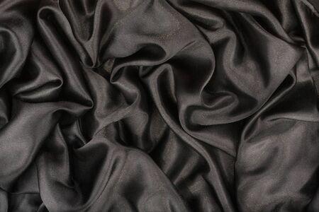 black satin: Black satin as background