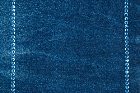 inlaid: Luxury fashion background, inlaid with blue rhinestones, top view
