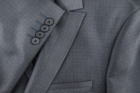 Texture of the classic jacket with pocket and sleeves, with space for your text Stock Photo