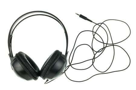 headphones isolated on white background Reklamní fotografie
