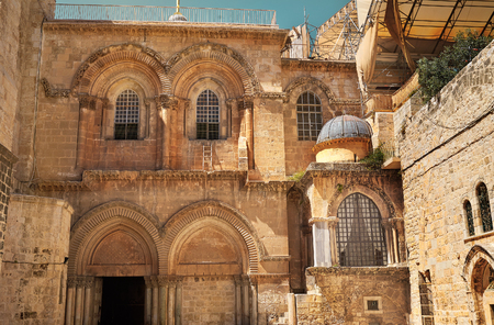 dolorosa: The Holy Sepulcher in Jerusalem, Israel