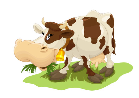 Happy Cow 일러스트