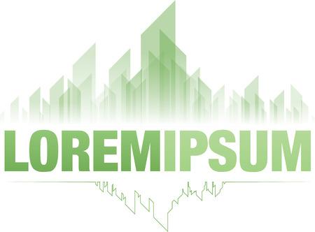 Diseño verde de la ciudad esmeralda