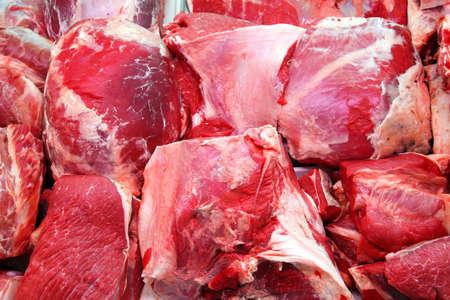 more slices of raw veal Standard-Bild