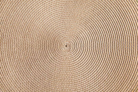 Decorative napkin, cocoa color decorative background with circular lines