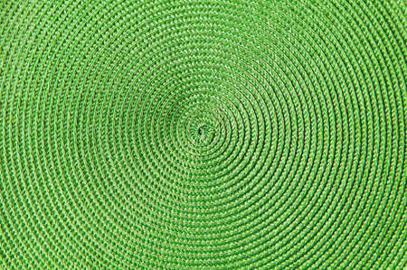 green decorative background with circular lines