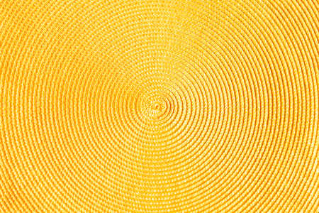 yellow decorative background with circular lines