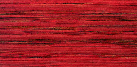 Red wood texture with stripes, pattern for furniture industry Standard-Bild