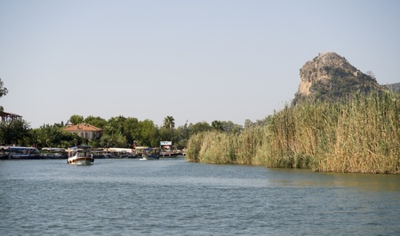 On river Dalyan,Turkey Stock Photo - 15939268
