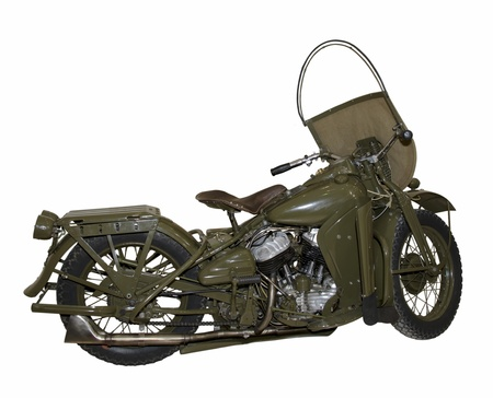 Elite American motorcycle of the middle of last century