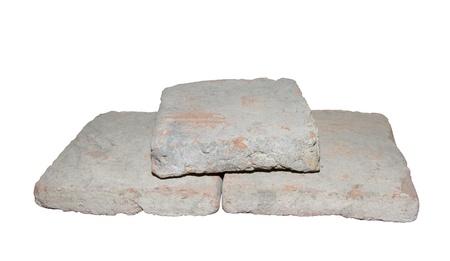 Bricks of stroitelnye.14 th eyelids Stock Photo