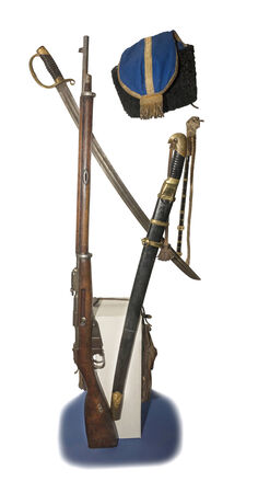 papakha: Equipment Cossack Don Army 19th century - is not completely isolated
