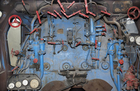 mainline: Mainline locomotive firebox and controls