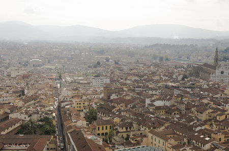 View of Florence with the Duomo photo