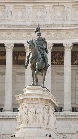 The Altare della Patria (National Monument to Victor Emmanuel II) .Rome.Italy