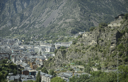 tourism in andorra: Andorra la Vella , 2014