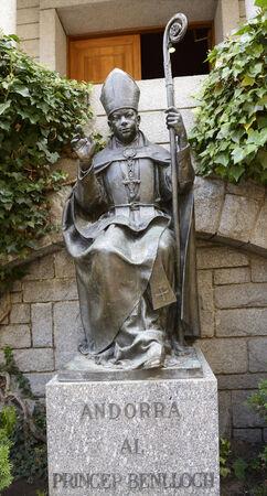 liturgy: Princep Benlloch, Co-prince of Andorra, Bishop of Urgell
