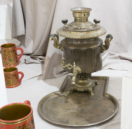 Samovar - a machine for preparing hot water