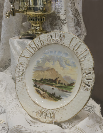 Plate dining - 19th century