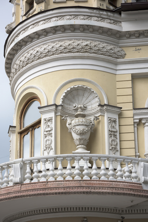 gothic build: Historic building in Rostov-on-Don Stock Photo