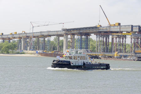 Two bridges. Construction of new and repair old in Rostov-on-Don