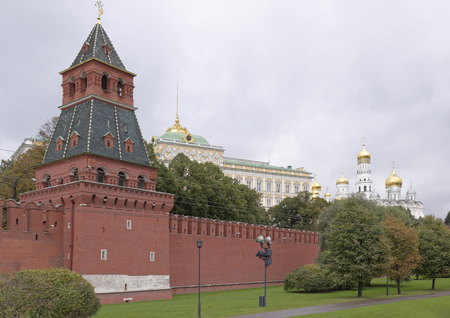 made russia: View of the Kremlin in Moscow