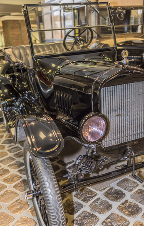 treasured: MOSCOW, RUSSIA- DECEMBER 15-  Ford Model T -Tin Lizzie(year of production_1908-1927)  at the Museum of technique V.Zadorozhnyj on December 15; 2015 in Moscow