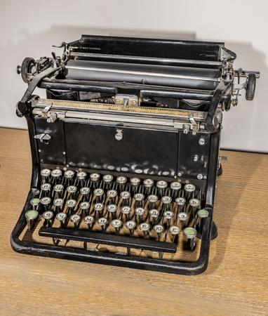 Manual typewriter, 1920s Stock Photo