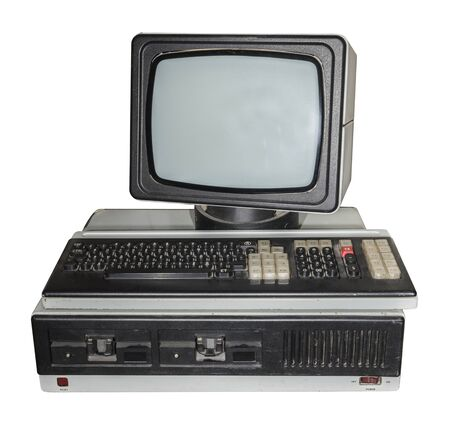 outdated: 8-bit personal computer. Production Years 1984-1989 Stock Photo