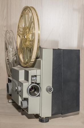 amateur: El proyector de pel�cula de 8 mm de aficionados