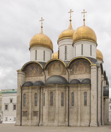 assumption: MOSCOW; RUSSIA- Assumption Cathedral of the Kremlin  in Moscow