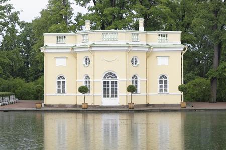 selo: Tsarskoye Selo in the rain, Saint-Petersburg
