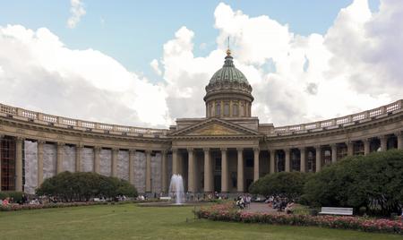 nights: RUSSIA; SAINT-PETERSBURG - JULY 5 - Evening in the white nights on July 5; 2015 in St. Petersburg
