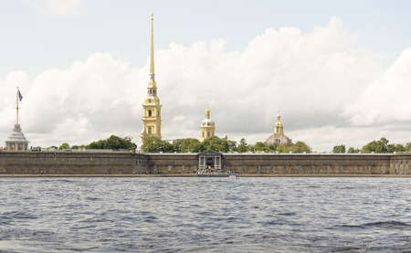 birdseye: View of the Peter and Paul Fortress in St. Petersburg