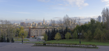 gora: View of Moscow from Poklonnaya Gora